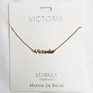 """Lumiela """"Victoria"""" Personalized Necklace"""